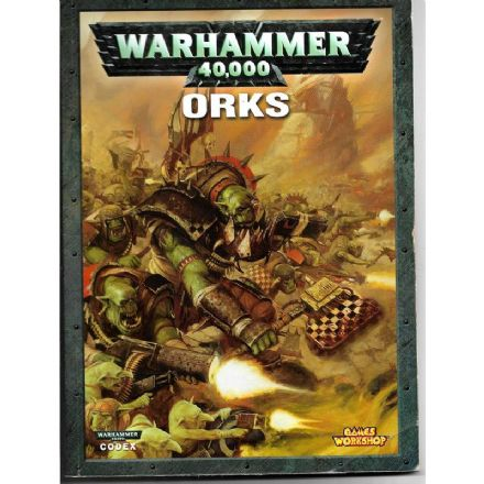 Space Orks Codex Rulebook 2007